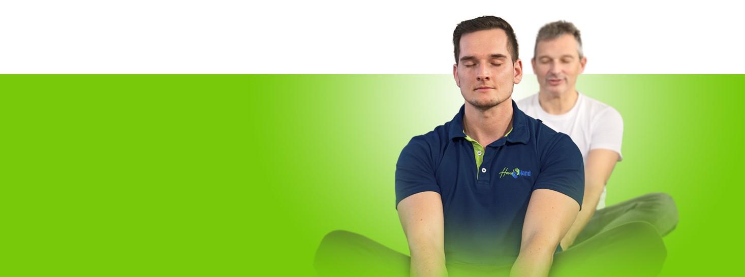 Kursangebote Rückenschule Rückenfit Yoga bei Hand in Hand Physiotherapie in Berlin Wilhelmsruh