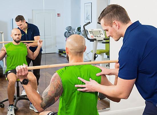 Krankengymnastik an Geräten (KGG) - Hand in Hand Physiotherapie und Krankengymnastik in Berlin-Wilhelsmruh/Reinickendorf