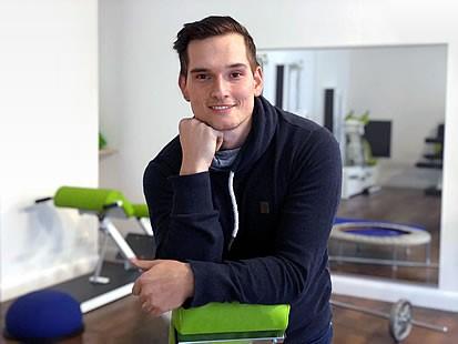 Paul Brose Geschäftsführer von Hand in Hand, Praxis für Physiotherapie und Sport in Wilhelmsruh Berlin